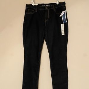 Old Navy Jeans Mid Rise Size 10 Short Dark Blue